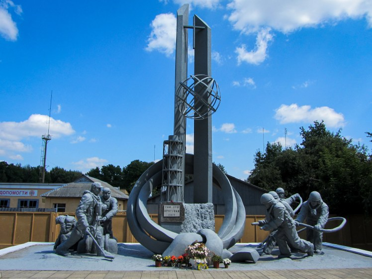 Chernobyl Exclusion Zone Firefighters Memorial