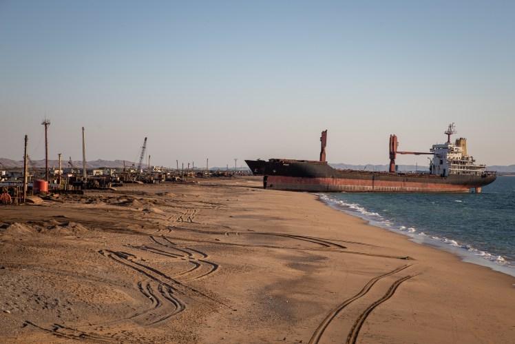 Pakistan Travel - Ship-breaking yard, Karachi.
