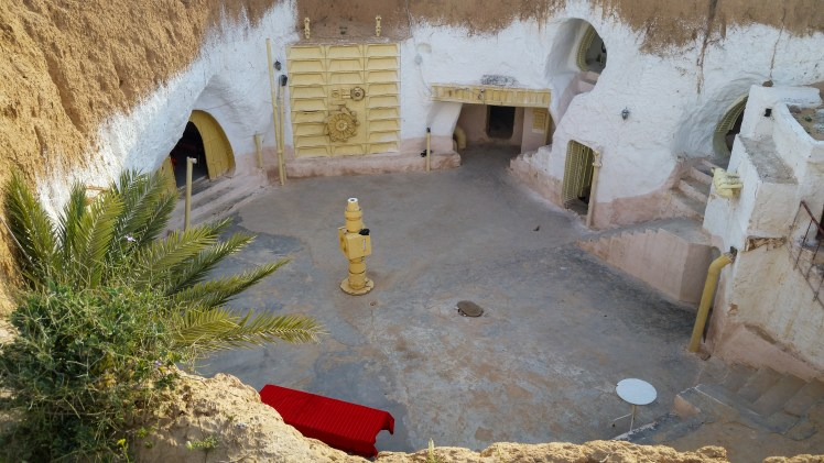 Tunisia Star Wars location - Lars Homestead (interior) in the Hotel Sidi Idriss in Matmata.