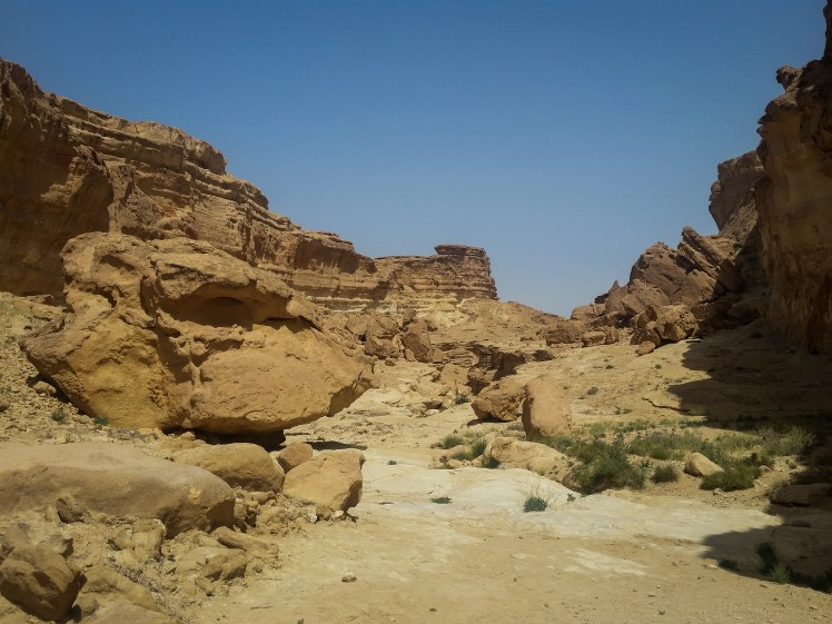 Star Wars film locations in Tunisia - Jundland Wastes near Sidi Bouhlel.