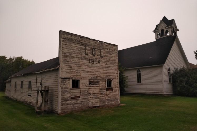 LOL.  Loyal Orange Lodge, Graysville, Manitoba.