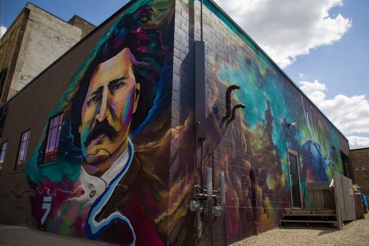 Louis Riel is an important part of Manitoban and Canadian history and which can be seen across Winnipeg.