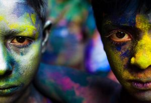 Holi Colours Boys