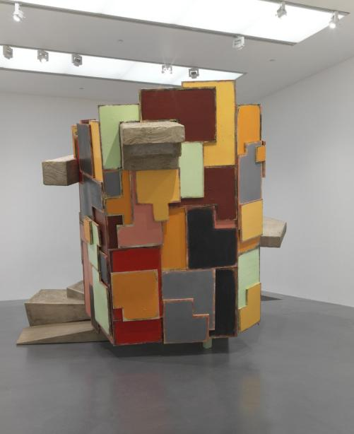 untitled: upturnedhouse, 2 2012 by Phyllida Barlow born 1944