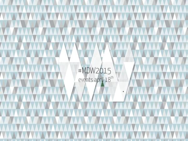 #MDW2015 – SABATO 18