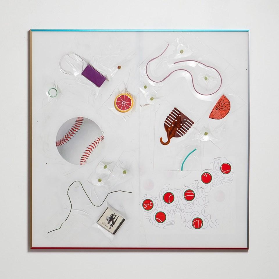 Alex Da Corte sculpture with objects
