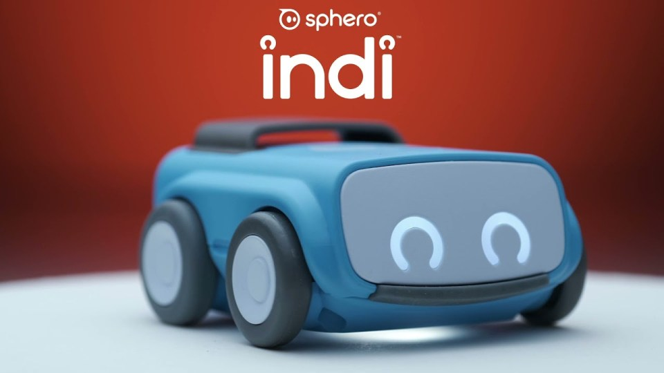 INDI, the first Sphero learning robot designed for kids