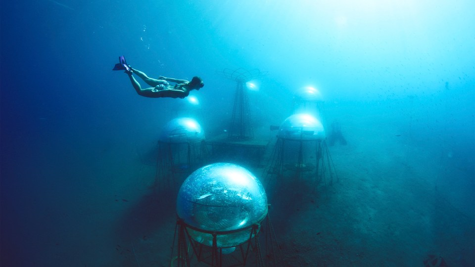 NEMO'S GARDEN, the first-ever underwater farm
