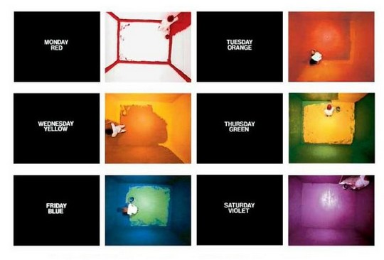 11.Any Boring Art, John Baldessari , Contemporary (he)art, Wevux, Giulia Serafin, contemporary art, conceptual art, Images, dots, I will not making any boring art, USA