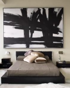 grande quadro pannello retro letto parete wevux scuola di interni franci nf arts design