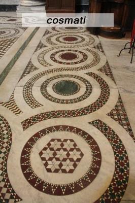 franci nf arts design wevux scuola di interni mosaic mosaico tecniche  cosmati cosmatesco tecnica