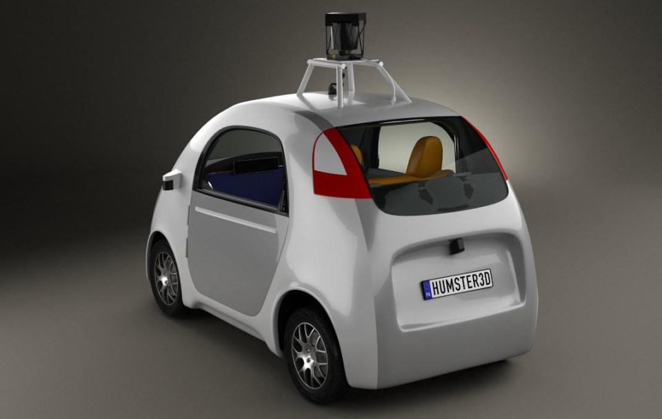 La Google Car! (1)
