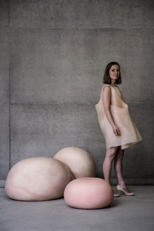 concrete dress
