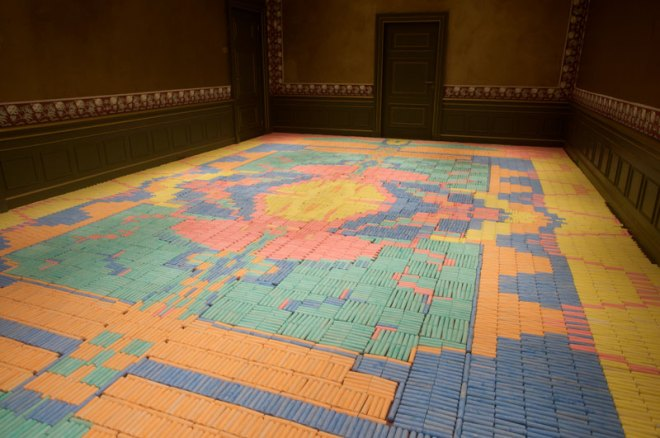 crayon carpet