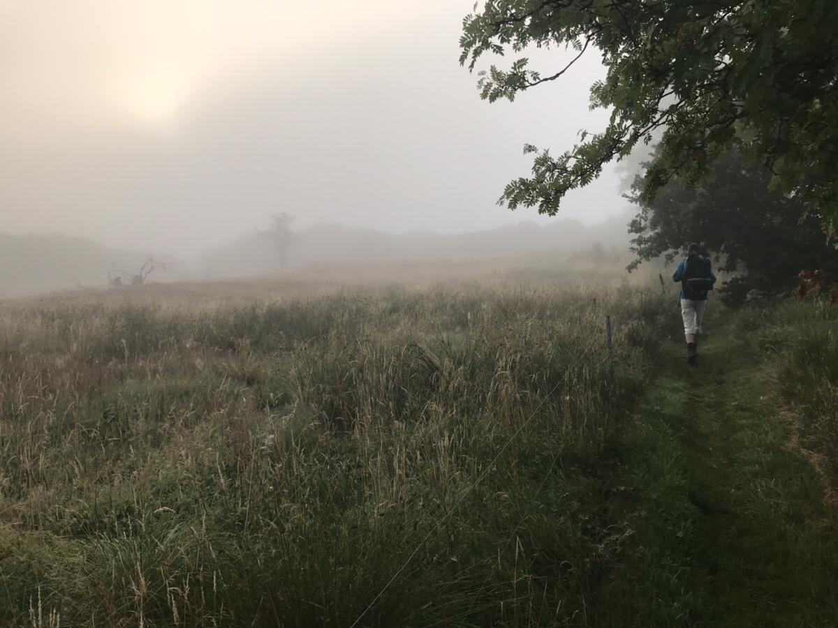 Et klassisk vandrebillede fra turen