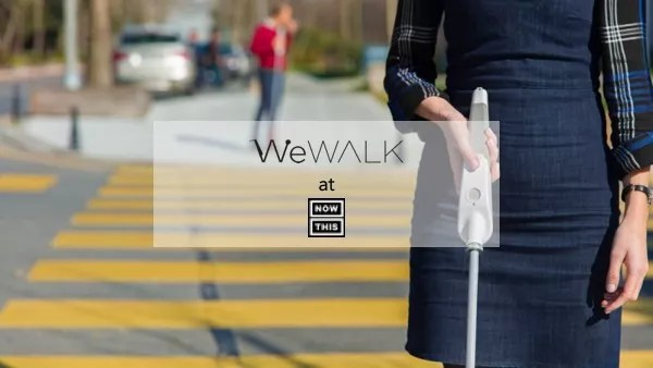 WeWalk 'Smart' Cane For People With Visual Impairments