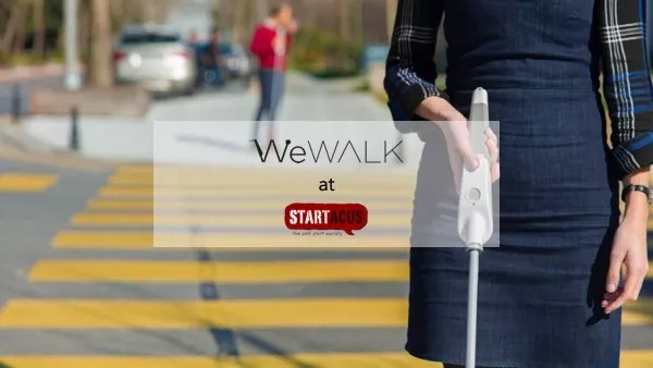 Innovation in mobility for the visually impaired thanks to WeWALK, a revolutionary smart cane!