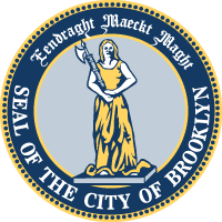 Seal of the city Brooklyn