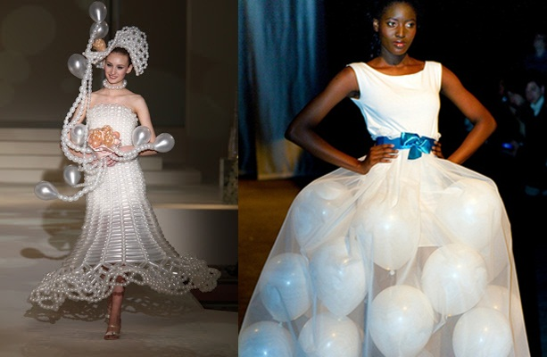 Who Says Wedding Dresses Are Boring?