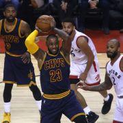 Cleveland Cavaliers Await Next Opponent