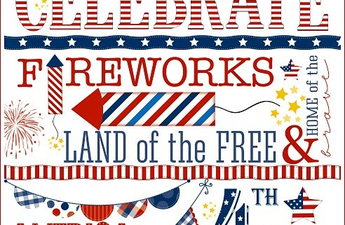 Celebrate America July 4th Holiday