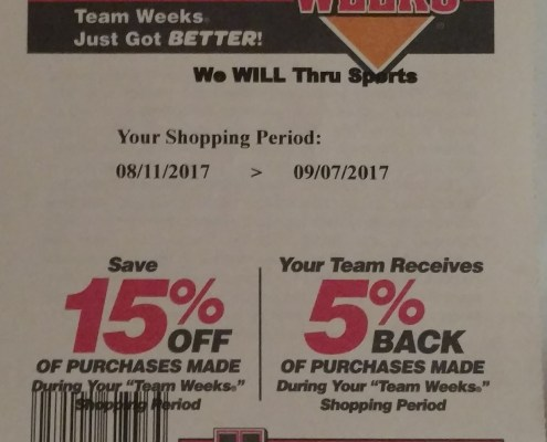 Modell's Back to School Shopping