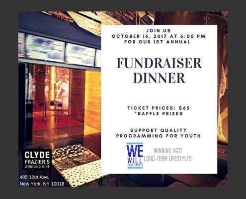 Fall Fundraiser Dinner Reminder