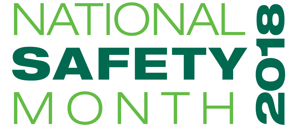 National Safety Month 2018