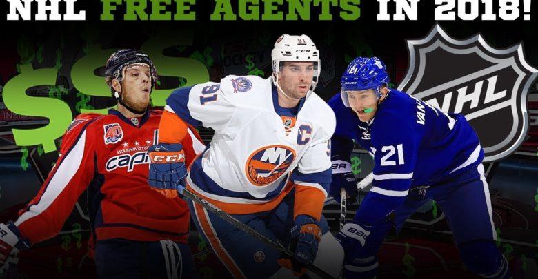 NHL Free Agency Season 2018
