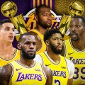 Los Angeles Lakers Win NBA Championship