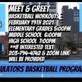 Virtual meet and greet at We W.I.L.L. Thru Sports