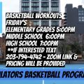 Regulators basketball Virtual Practice