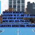 Regulators Basketball Outdoor Practice