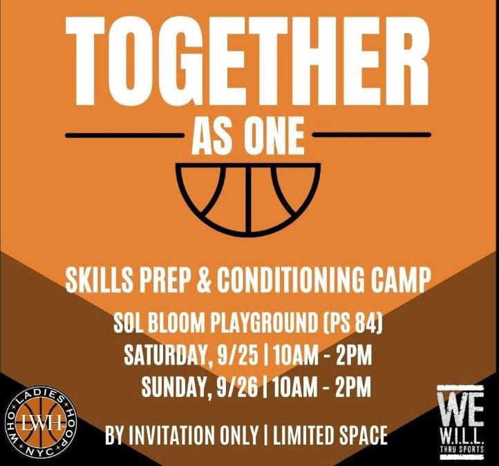 Together As One Weekend Sports Camp