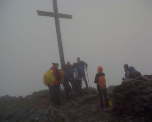 1 p.m. : Summit reached !