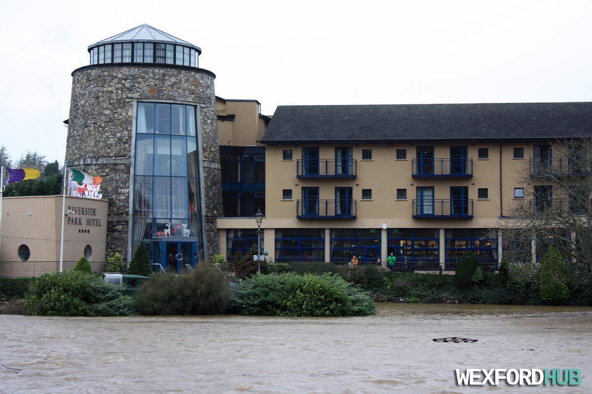 Enniscorthy Impassable Due Flooding