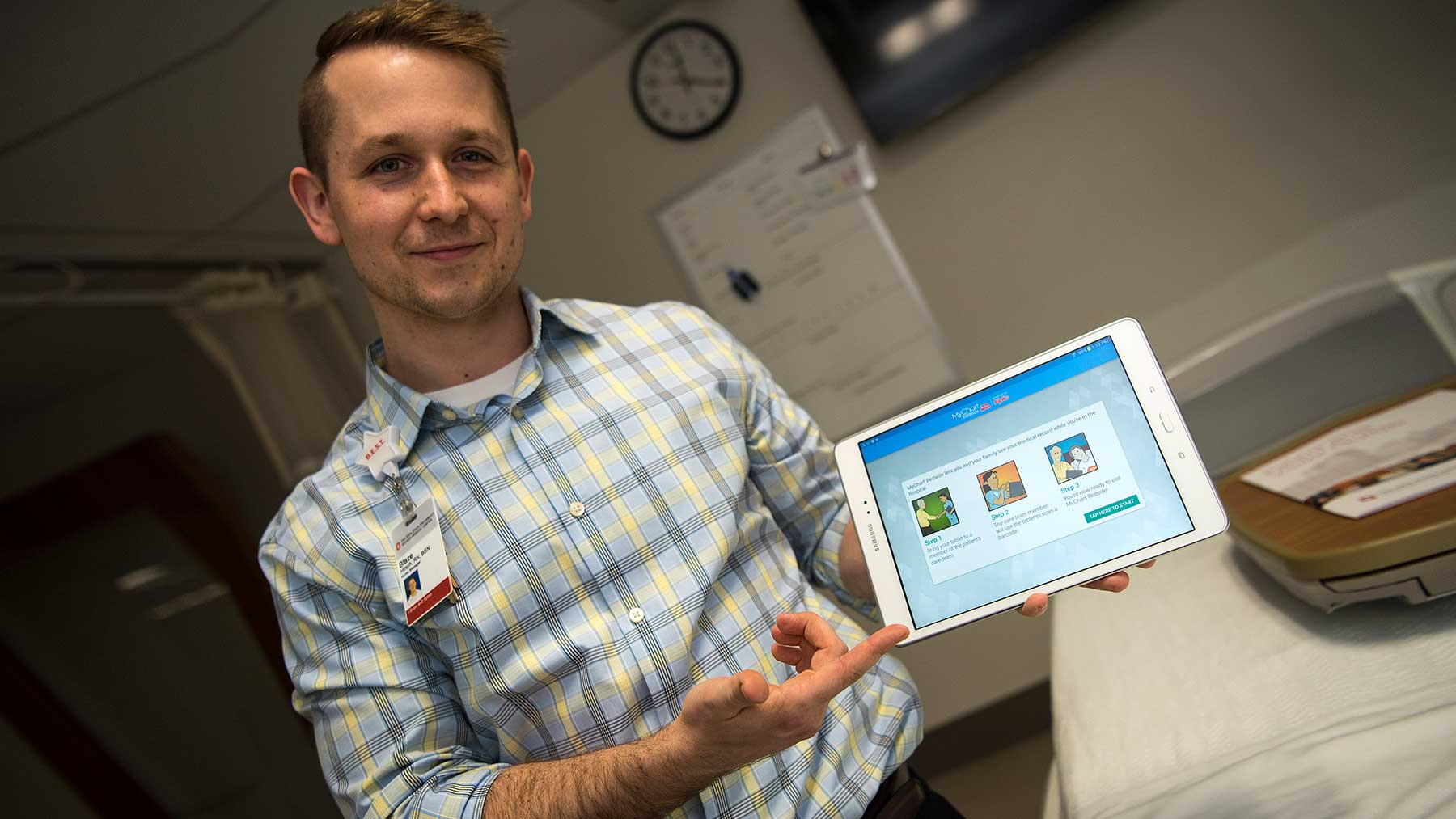 Bedside app eases stress of hospital patients also mychart ohio state rh wexnermedical osu