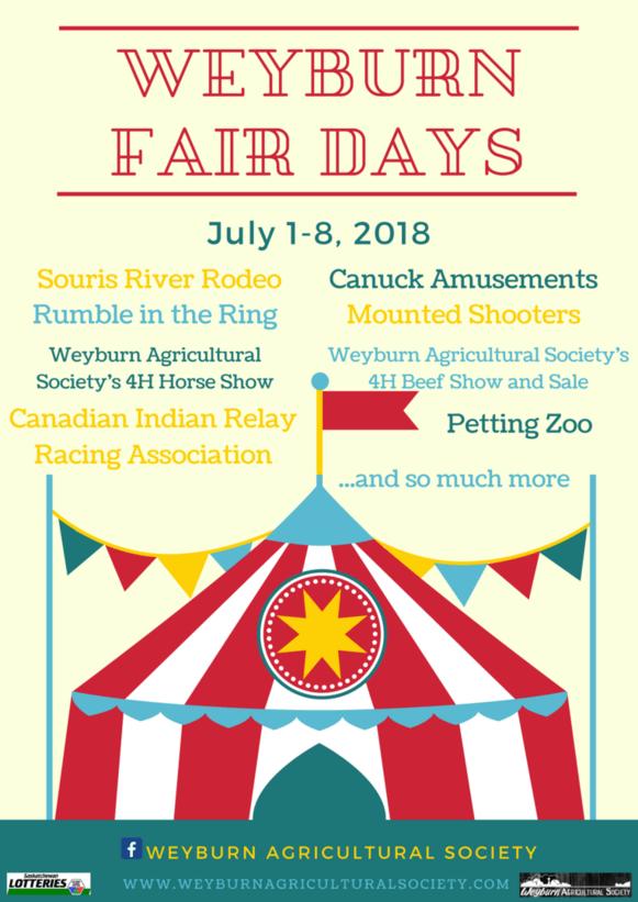 Weyburn Fair Days! Weyburn Saskatchewan