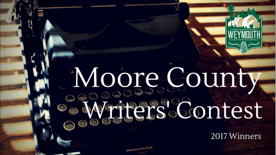 Moore County Writers' Contest Winners