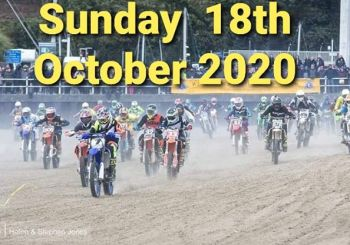 WEYMOUTH BEACH MOTOCROSS – SUNDAY 18th OCTOBER 2020