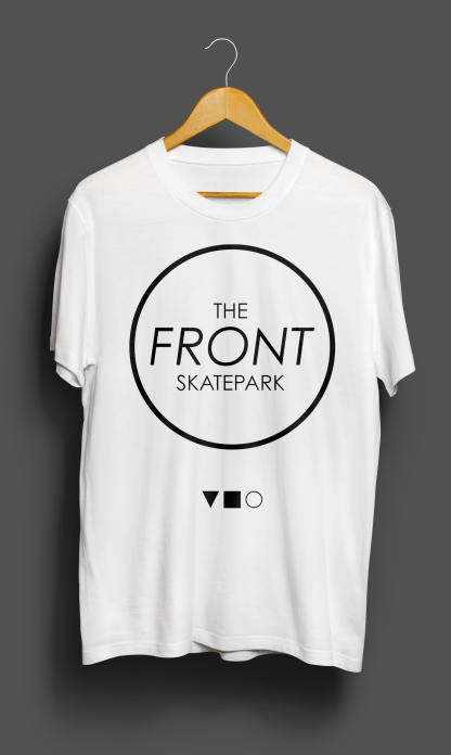 The Front T-Shirt White KeyLine Front