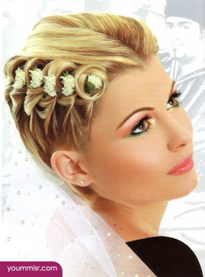 celebrity wedding hairstyles 2015