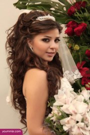 wedding day hairstyles 2015