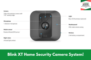 Blink XT Home Security Camera System!