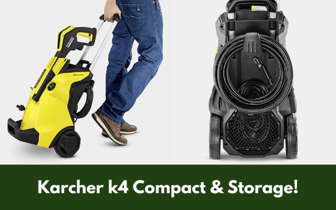 Karcher k4 Compact & Storage!