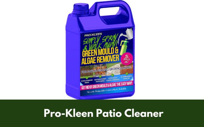 Pro-Kleen Patio Cleaner
