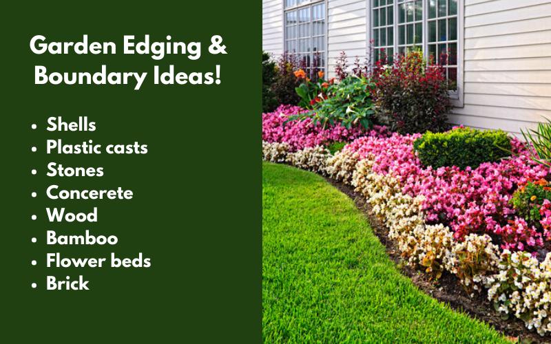 Garden Edging & Boundary Ideas