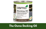 The Osmo Decking Oil