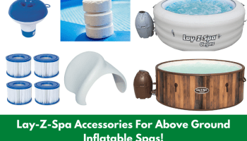 Lay-Z-Spa Accessories For Above Ground Inflatable