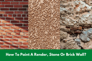 How To Paint A Render, Stone Or Brick Wall